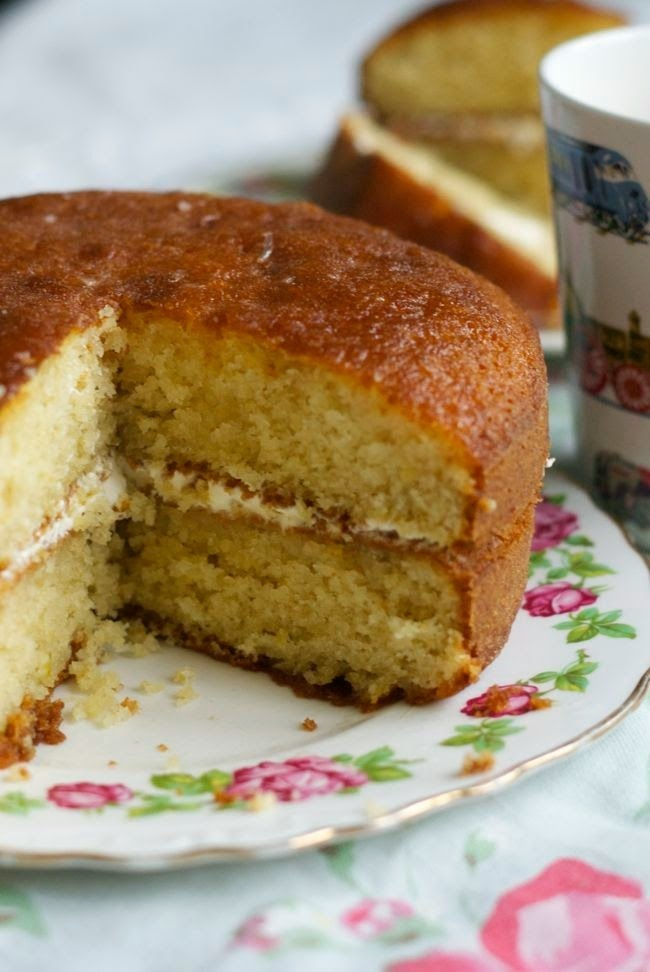 'Every day is special' lemon drizzle cake
