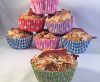 Appel notentaart muffins