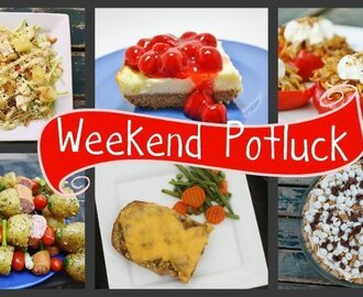 Ice Cream Pies & Weekend Potluck #79