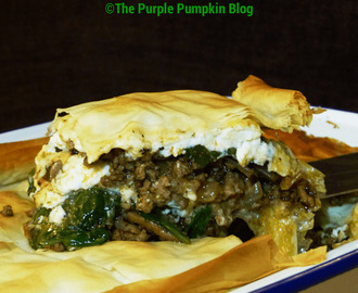 Lamb, Spinach & Feta Filo Pie [Higgidy Recipe Hunt]