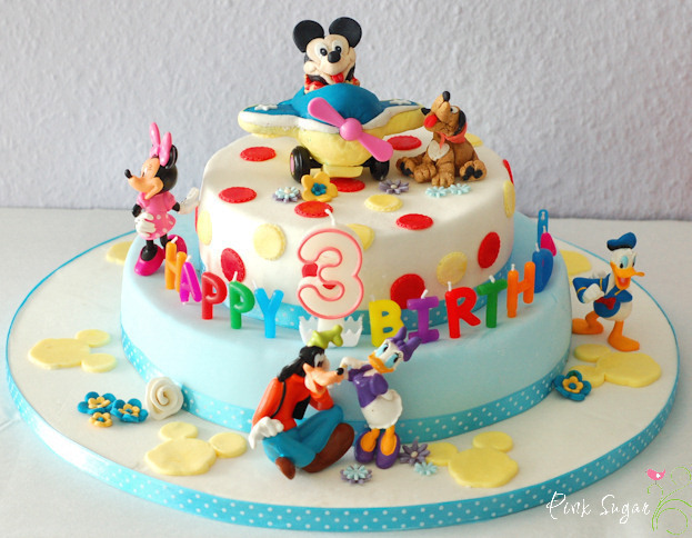 """Mickey Mouse Torte"" und ein give away"