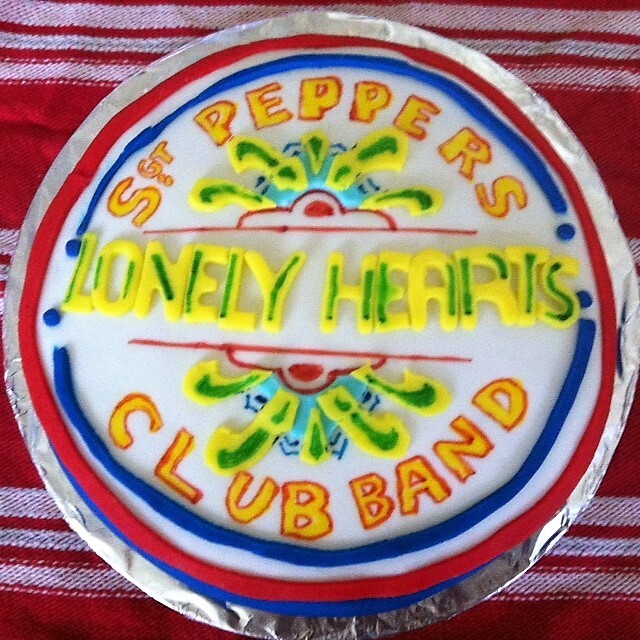 Sgt Pepper's Lonely Hearts Club Band Cake - Melbourne Cake Club - Sensational Song Cakes