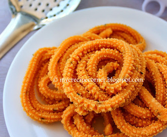 Mullu Murukku - Diwali Snack Recipes