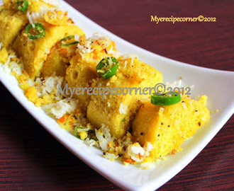 Khaman Dhokla Recipe ( A tribute to Tarla Dalal)