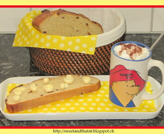 Corn Whole Wheat Bread with Raisins - Pane Integrale al Mais e Uvetta