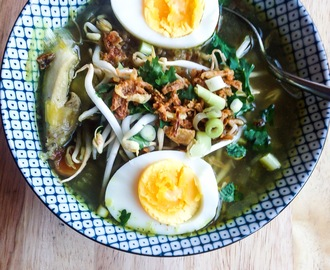 Foodie Friday: Soto Ayam (Indonesische kippensoep)