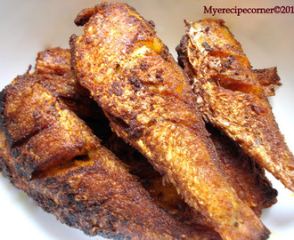 South Indian Fish Fry/ Meen Varuval.