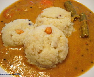 Ven Pongal and Hotel/ Tiffan Sambar