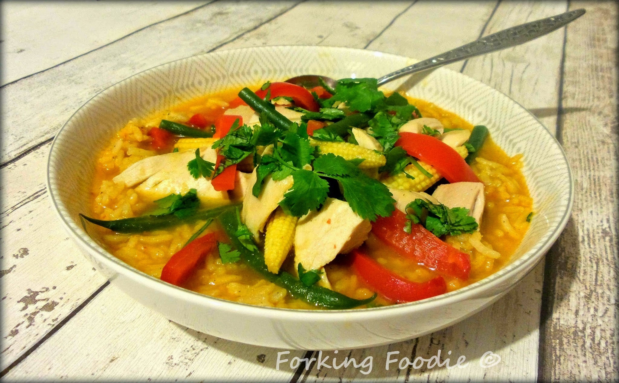 Tom Yum Gai / Goong (Hot and Sour Chicken / Prawns) two ways in the Thermomix TM31 or TM5