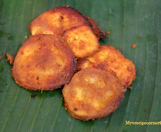 South Indian Vazhakai Varuval/ Raw Banana fry.