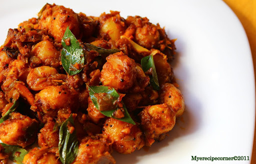 Baby Potato Fry Chettinad