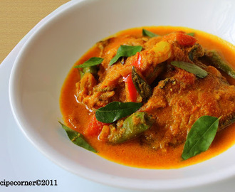 Kerala Fish Stew/ Meen Moilee Recipe