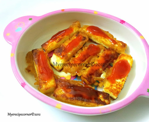 Paneer Fingers( Tawa roasted)- Kids Lunch box recipes Indian
