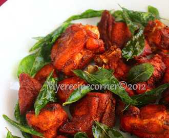 Chilli Chicken 65 Recipe