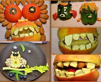 Spooktacular Fruit and Veg Halloween Creations