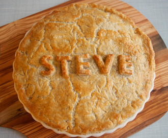Personalised Pie For Savoury Celebrations!