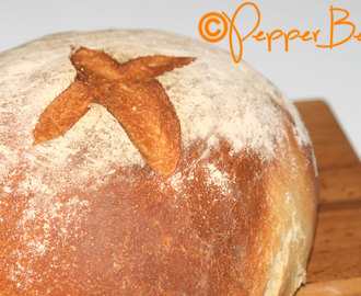 Paul Hollywood's Crusty Round Bread Loaf Recipe!