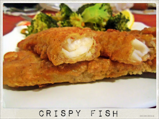 Fish Fingers in Beer and Nutmeg Batter