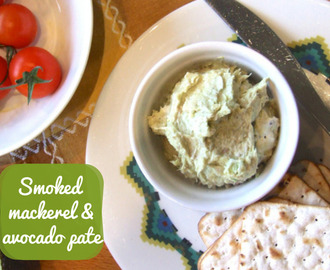 Quick smoked mackerel & avocado pate