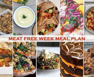 Plan Ahead Your Meat Free Week – 52 New Foods, Pumpkin & Halloween