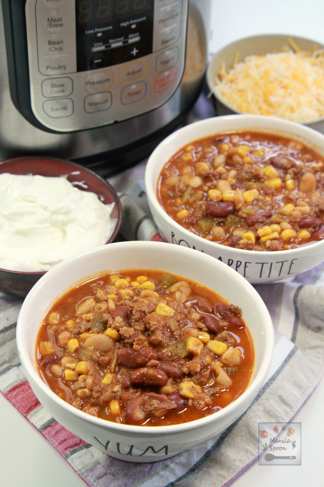 Instant Pot Chorizo Chili
