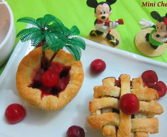 Mini Cherry Pies Recipe/Thanks Giving Special Pies