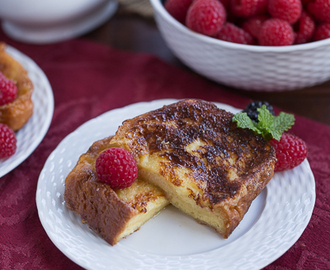 Sugar-Crusted French Toast #FrenchFridayswithDorie