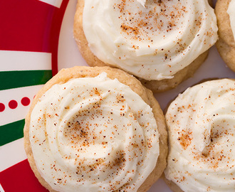Melt-In-Your-Mouth Eggnog Cookies