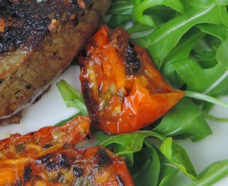 Steak with a Sun-dried Tomato Marinade