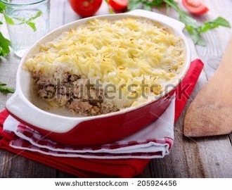 Speedy Shepherds Pie - with Cooked Lamb
