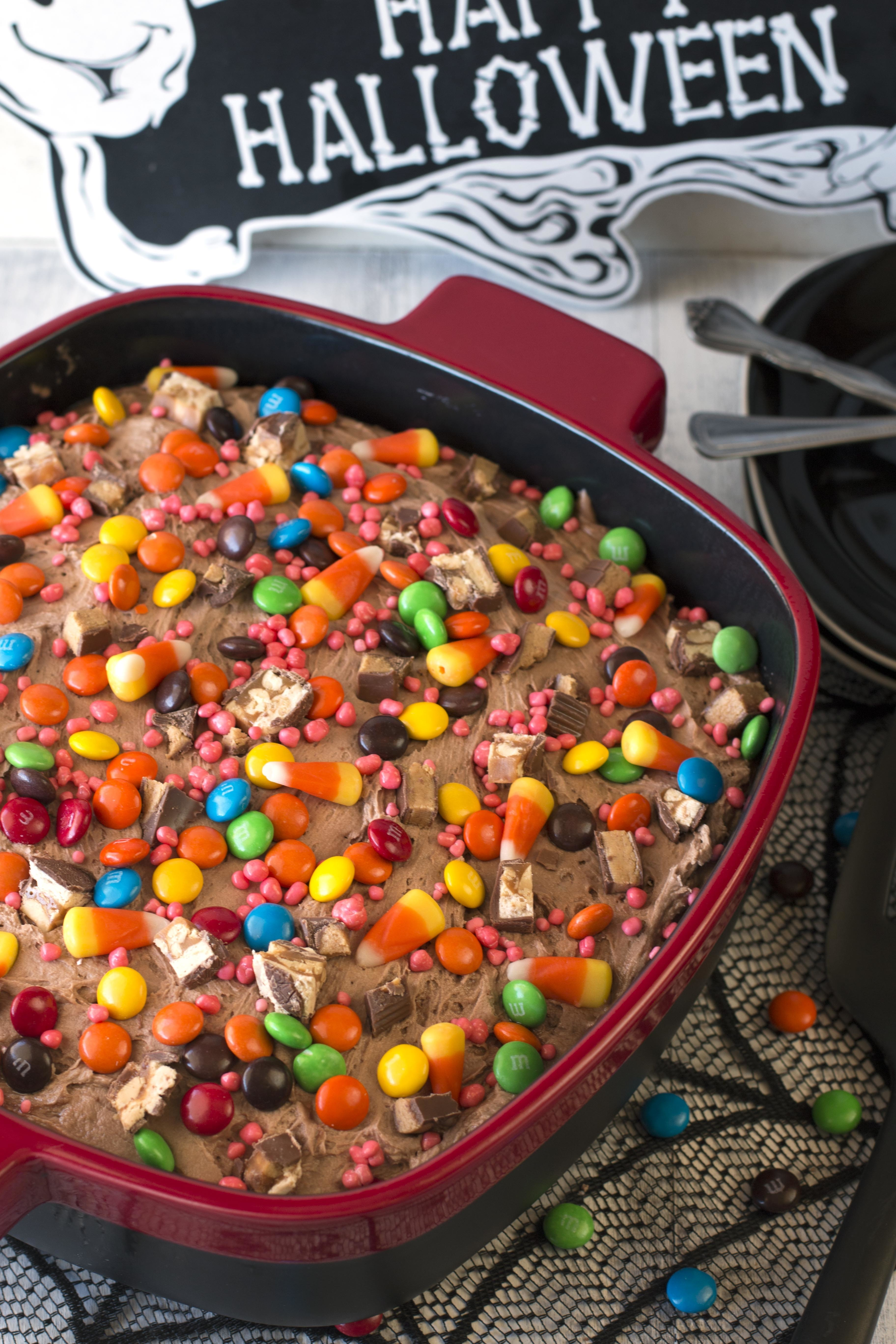 Leftover Halloween Candy Cake with KitchenAid® Streamline Ceramic