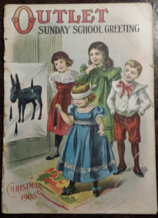 Outlet – Sunday School Greeting, Christmas 1906