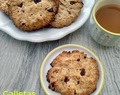 GALLETAS DE AVENA CON ACEITE Y CHOCOLATE