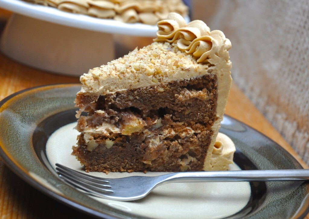 Apple Cake with Biscoff Buttercream