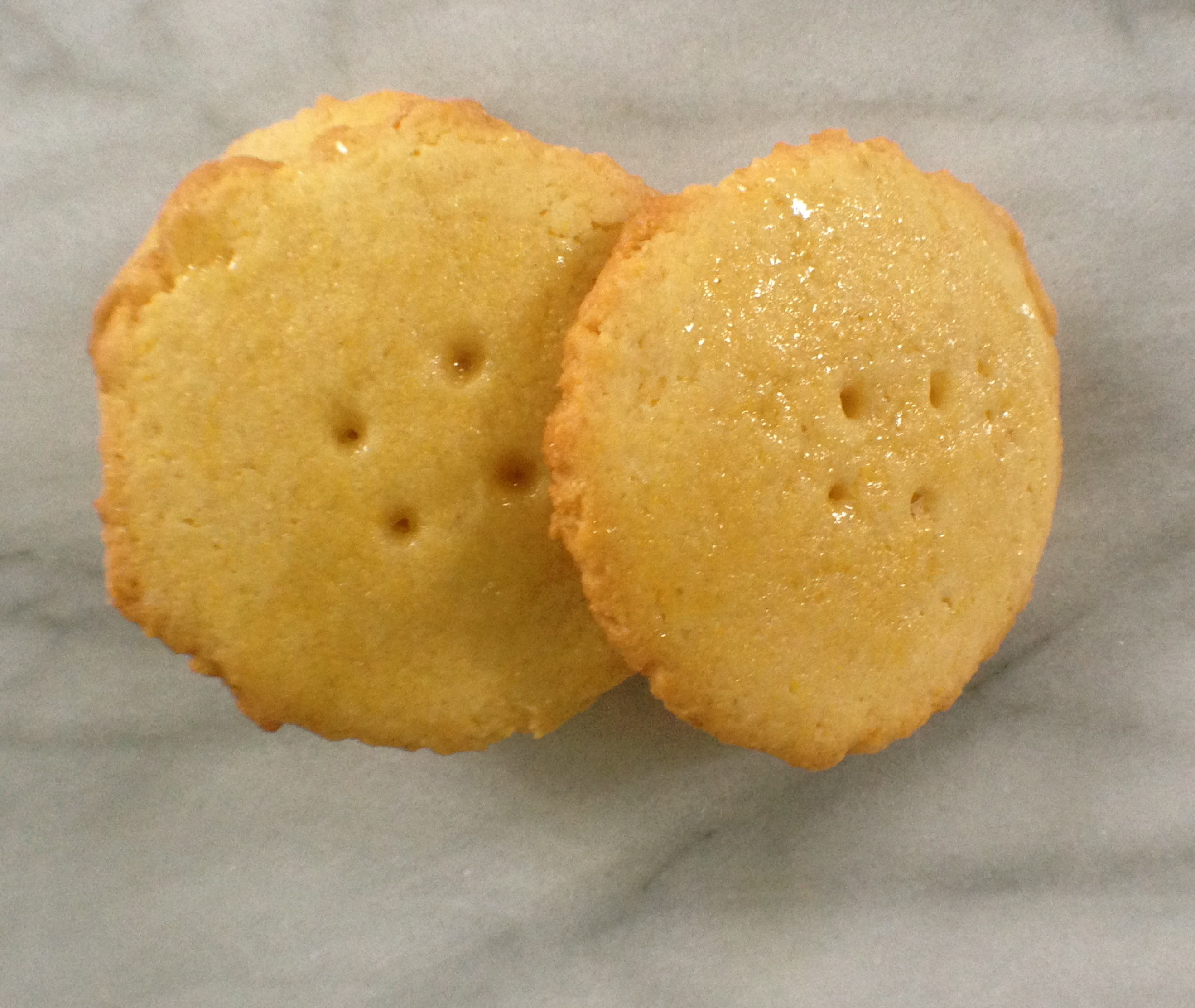 Holiday Cookie Idea – Cornmeal Honey Buttons