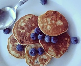 Banana pancakes - gluten free and full of goodness.