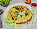 Basil Omelette Recipe – So simple but so tasty!