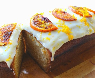 Blood Orange and Gin Cake with Cream Cheese Frosting