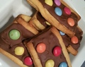 Biscuits croquants aux smarties Thermomix