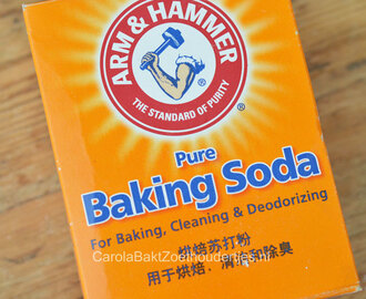 Alles over baking soda oftewel baksoda