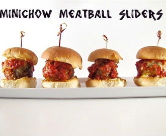 {MiniChow} Meatball Sliders
