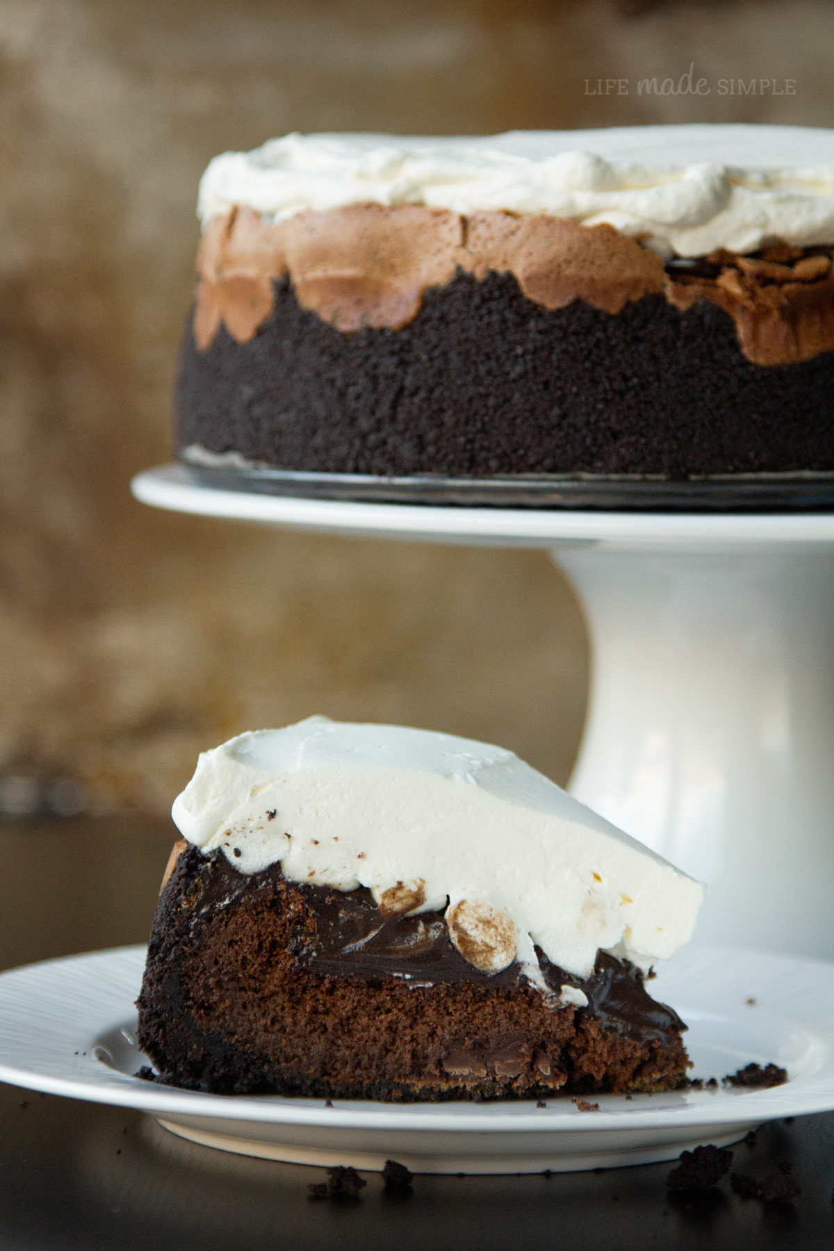 Mile High Mississippi Mud Pie