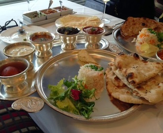 Set Thali Lunch at Gaylord W1 by Maria Kuehn