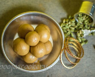 Wheat Laddu using Jaggery