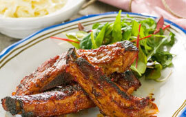 Grillade spareribs
