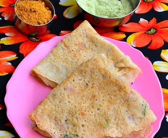 Godhuma Dosa Recipe – Instant Wheat Dosa | South Indian Breakfast Recipes