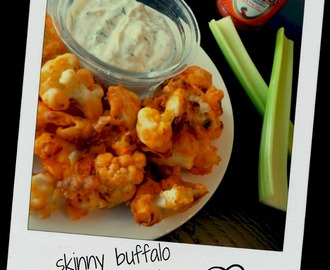 skinny buffalo cauliflower bites ♥