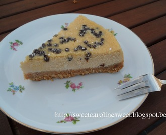 Baileys & chocolate chip cheesecake