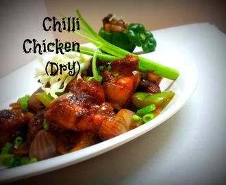 Chilli Chicken (Dry)