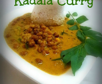Kadala Curry..........Kerala Style.(Black Chana Dal Curry)